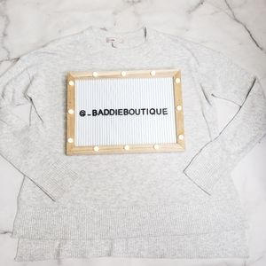 NWOT Chelsea 28 cashmere blend sweater